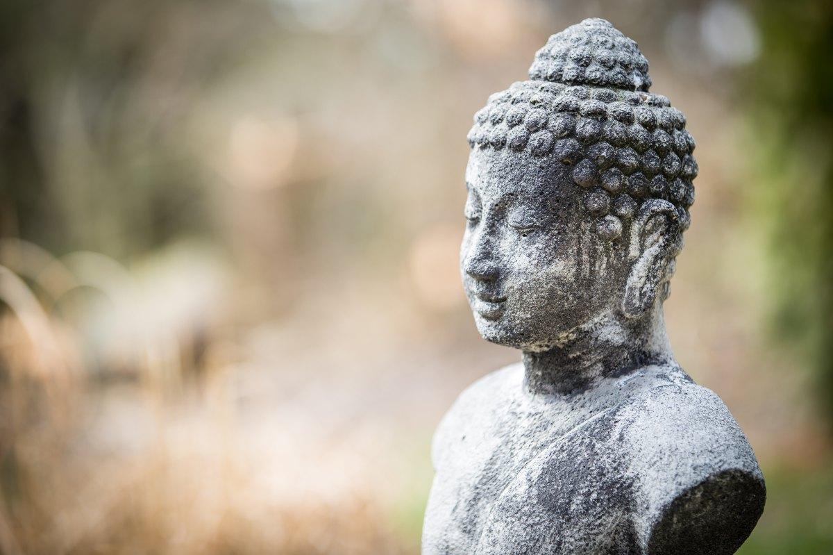 Buddha mosolya